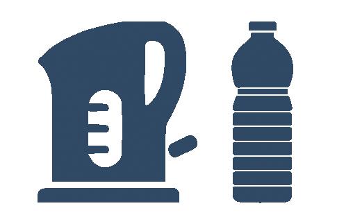 Waterkoker ontkalken met schoonmaakazijn