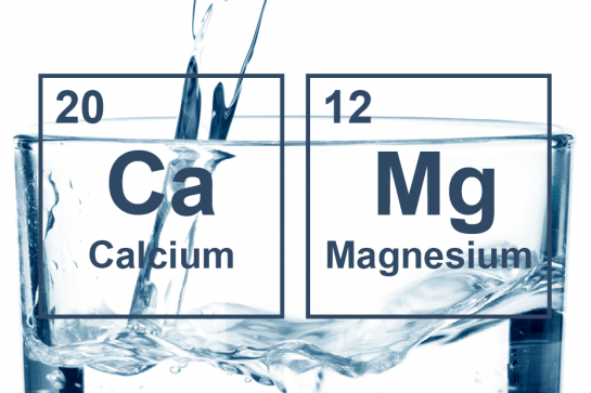 Calcium of magnesium in drinkwater