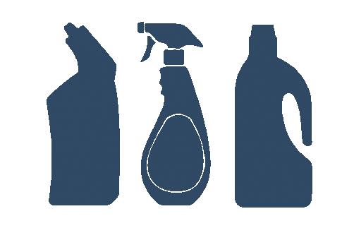 Waterontharder aggressieve schoonmaakmiddelen niet meer nodig