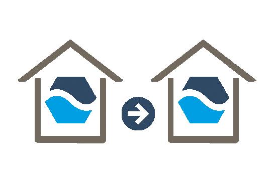 Aquacell verhuisbaar