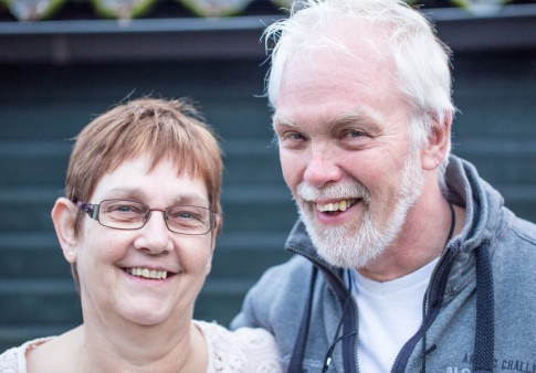 Pieter en Nanda Huttinga
