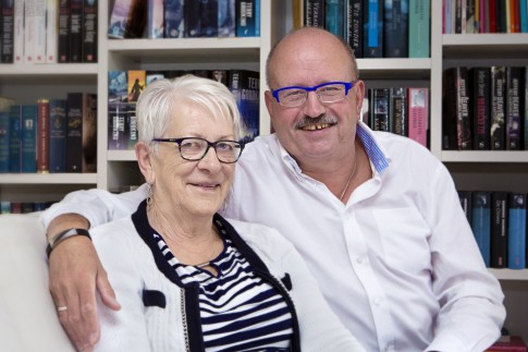 Marieke van Pamelen en Rinus Scheele