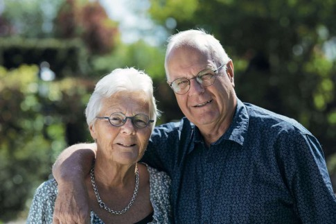Marjan en Wim Smit