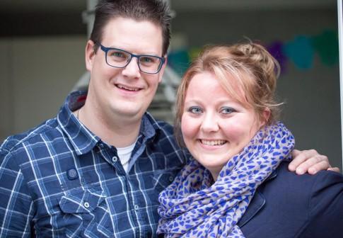 Reinoud Messchendorp en Anja Cornelissen